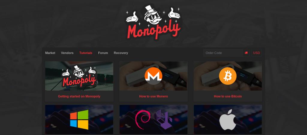 Monopoly Market Tutorial